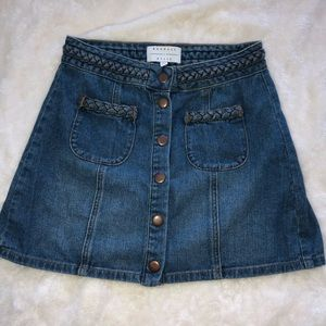 kendall & kylie denim skirt